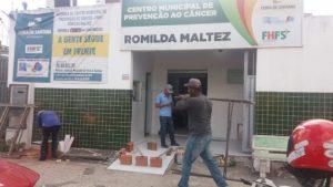 Obras de ampliação do CMPC estão em ritmo acelerado