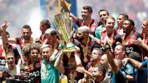 Flamengo domina o Athletico-PR e conquista a Supercopa